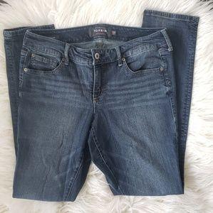 Torrid Boyfriend style straight leg jeans 10R